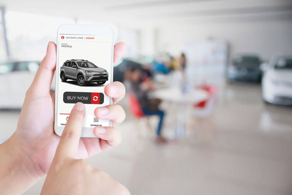 Buy A Car Online Value Your Trade Request Financing